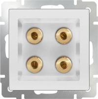 WL01-AUDIOx4 / Акустическая розетка (белый) a030771