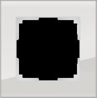 WL01-Frame-01 / Рамка Favorit на 1 пост (Дымчатый, стекло) a030785