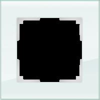 WL01-Frame-01 / Рамка Favorit на 1 пост (натуральное стекло)