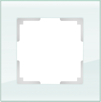 WL01-Frame-01 / Рамка Favorit на 1 пост (натуральное стекло) a031475