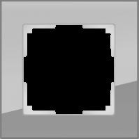 WL01-Frame-01 / Рамка Favorit на 1 пост (Серый, стекло)
