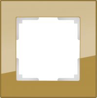WL01-Frame-02-bronze / Рамка Favorit на 2 поста (бронзовый) a036583
