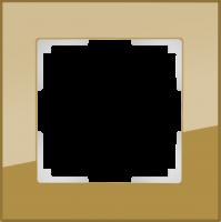 WL01-Frame-03-bronze / Рамка Favorit на 3 поста (бронзовый) a036584