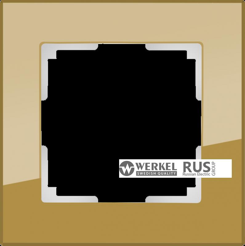 WL01-Frame-03-bronze / Рамка Favorit на 3 поста (бронзовый)