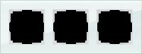 WL01-Frame-03 / Рамка Favorit на 3 поста (натуральное стекло) a031477