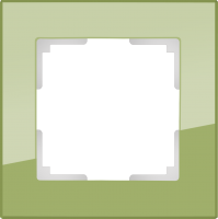 WL01-Frame-04-pistachio / Рамка Favorit на 4 поста (фисташковый)