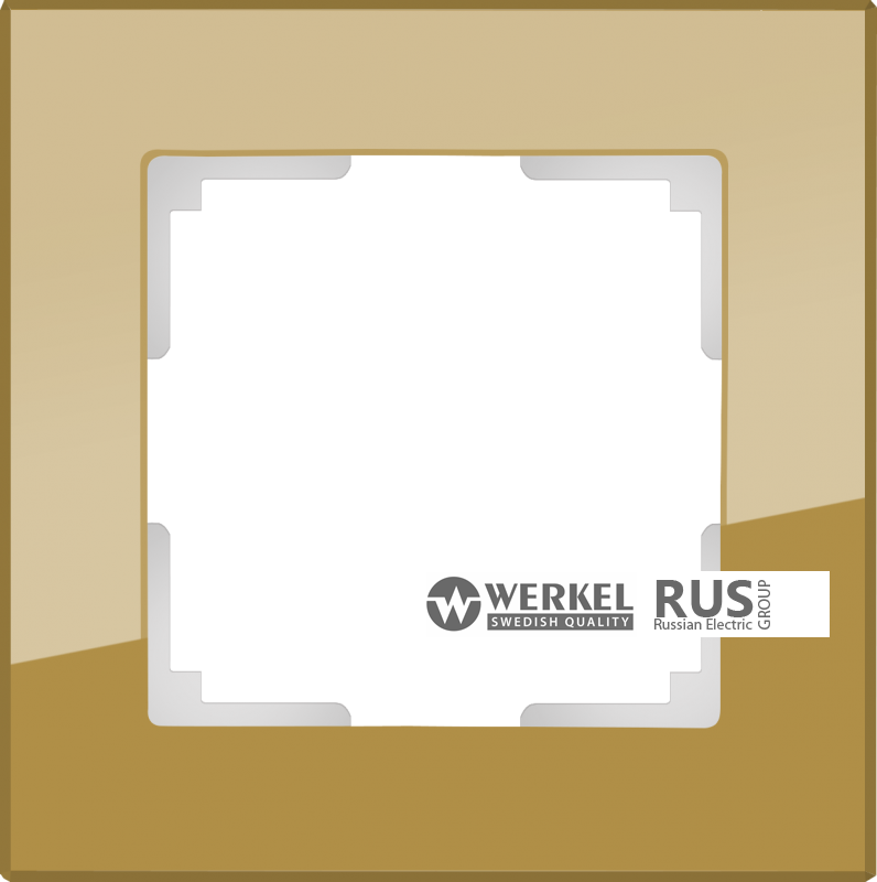 WL01-Frame-05-bronze / Рамка Favorit на 5 постов (бронзовый) a036586