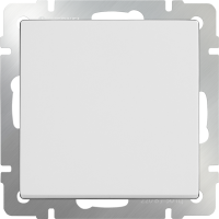WL01-SW-1G-2W / Выключатель одноклавишный проходной (белый)