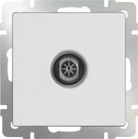 WL01-TV-2W / ТВ-розетка проходная (белая)