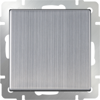 WL02-SW-1G-2W / Выключатель одноклавишный проходной (глянцевый никель) a028843