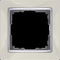 WL03-Frame-01-ivory / Рамка Snabb 1 пост (слоновая кость)
