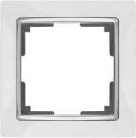 WL03-Frame-01-white / Рамка Snabb 1 пост (белый) a028880