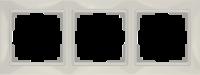 WL03-Frame-03-basic-ivory / Рамка Snabb Basic 3 поста (слоновая кость)