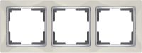 WL03-Frame-03-ivory / Рамка Snabb 3 поста (слоновая кость) a028902