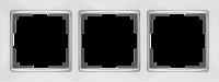 WL03-Frame-03-white / Рамка Snabb 3 поста (белый)