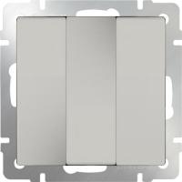 WL03-SW-3G-ivory / Выключатель трехклавишный (слоновая кость)
