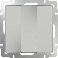 WL03-SW-3G-ivory / Выключатель трехклавишный (слоновая кость) a033750