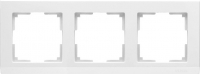 WL04-Frame-03-white / Рамка Stark 3 поста (белый)