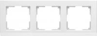 WL04-Frame-03-white / Рамка Stark 3 поста (белый) a028923