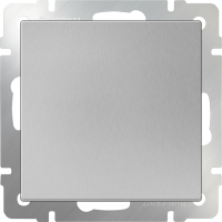 WL06-SW-1G / Выключатель одноклавишный (серебряный) a029820