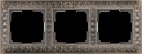 WL07-Frame-03 / Рамка Antik на 3 поста (Бронза) a029840