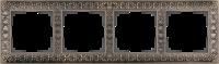 WL07-Frame-04 / Рамка Antik на 4 поста (Бронза) a029841