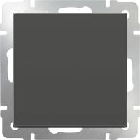 WL07-SW-1G-2W / Выключатель одноклавишный проходной (серо-коричневый)