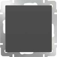 WL07-SW-1G-C / Перекрестный переключатель одноклавишный (серо-коричневый)