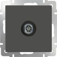 WL07-TV-2W / ТВ-розетка проходная (серо-коричневый) a033756