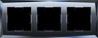 WL08-Frame-03 / Рамка Diamant на 3 поста (Черный) a029845