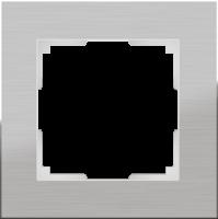 Рамка Werkel Aluminium 1 пост WL11-Frame-01 Алюминий