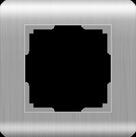 Рамка Werkel Stream на 1 пост WL12-Frame-01 Серебряный a034326