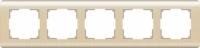 Рамка Werkel Stream на 5 постов WL12-Frame-05 Шампань a034615
